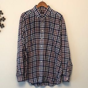 Vineyard Vines Plaid Button Down